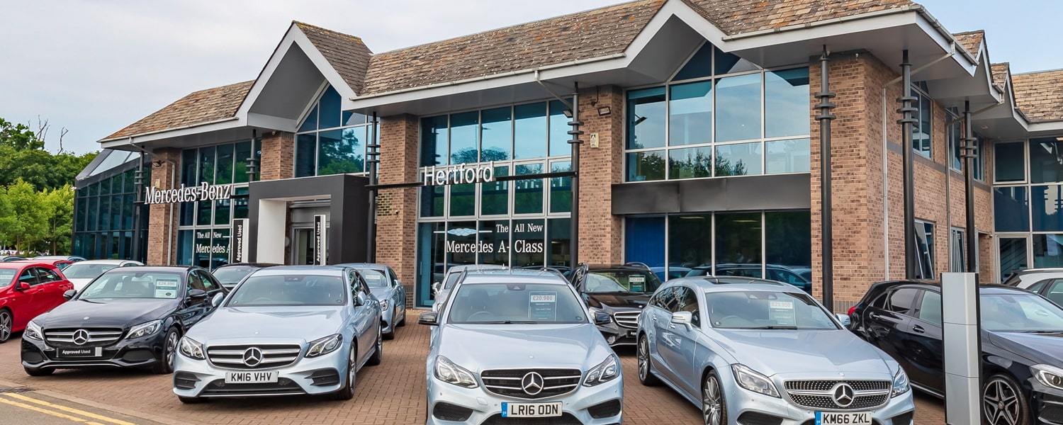 Mercedes-Benz and smart of Hertford