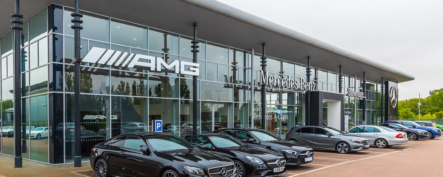 Mercedes-Benz and smart of Stevenage