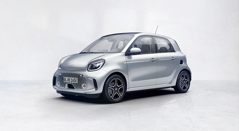 EQ smart fortwo and forfour Motability Offer