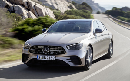 The new E-Class Saloon