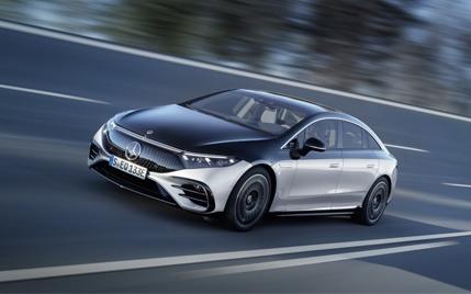 The new Mercedes-Benz EQS