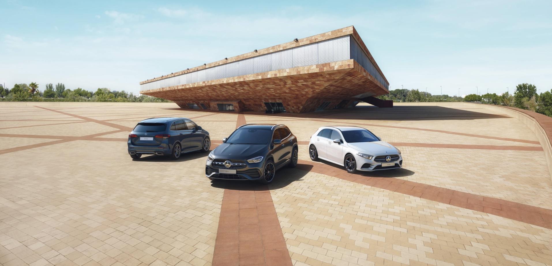 The new Mercedes-Benz EQB