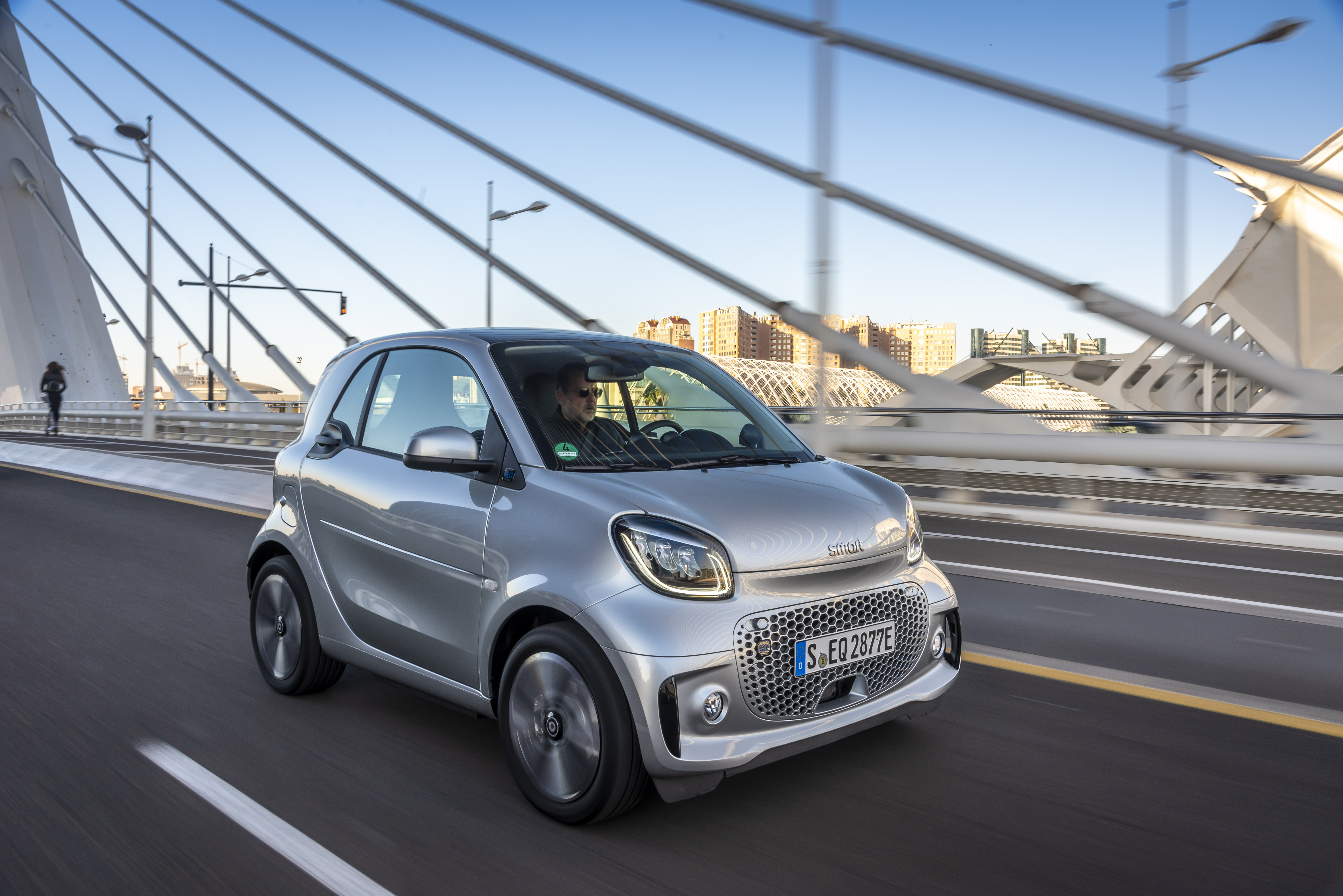 smart EQ fortwo With Free Home Charger