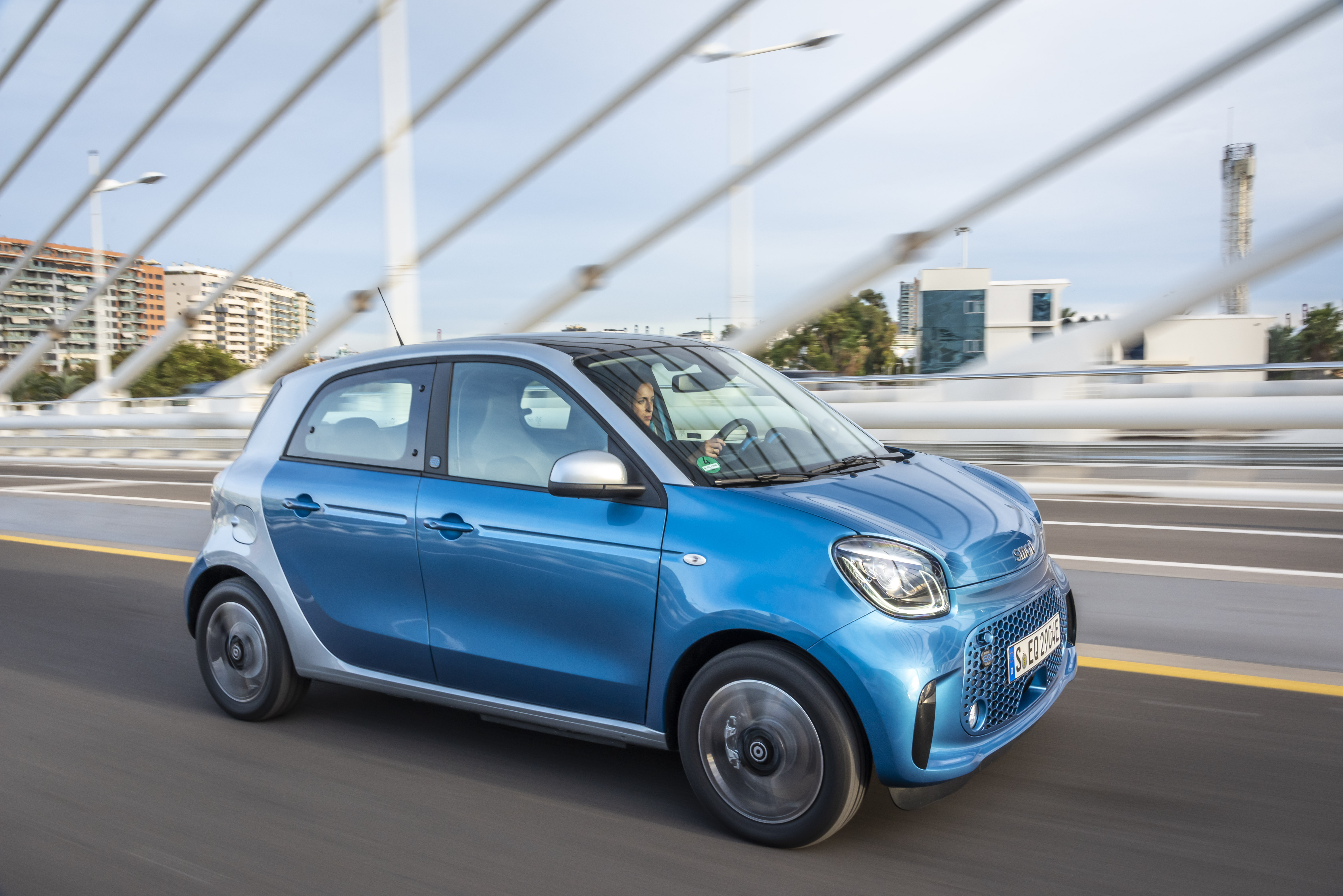 smart EQ forfour With Free Home Charger